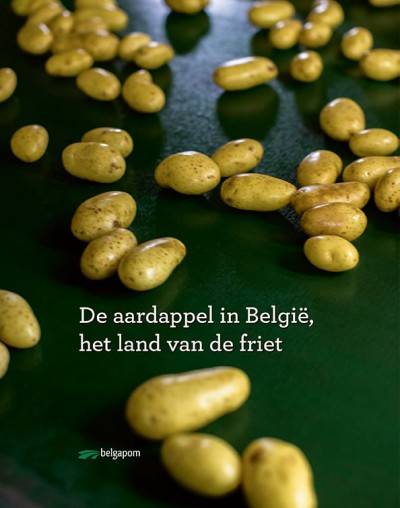 The book : 'The potato in Belgium, land of fries' for sale now !